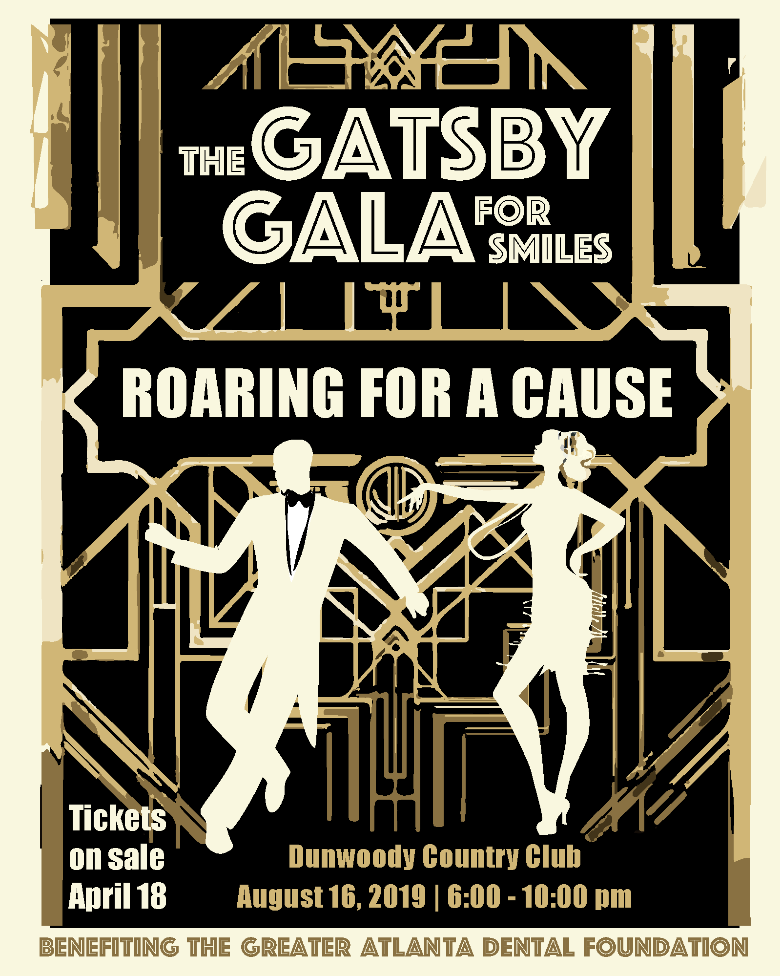 Gatsby Gala- Tickets on sale April 18